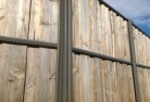 Abbotsbury Lap and cap timber fencing 2